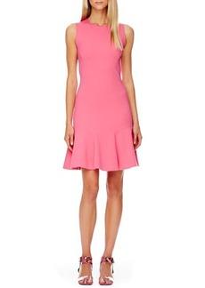 Michael Kors FLARE Flare-Skirt Dress, Carnation