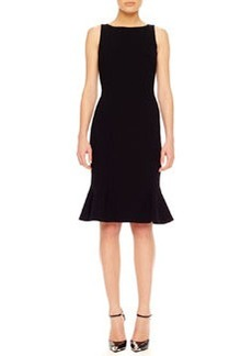 Michael Kors Flare-Hem Crepe Dress