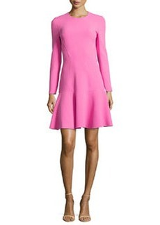 Michael Kors Flare-Hem Knit Dress, Carnation