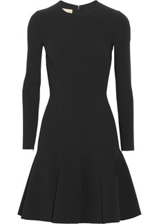 Michael Kors Flared stretch-wool dress