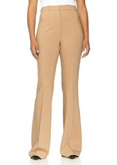 Michael Kors Flared Wool-Blend Trousers, Suntan