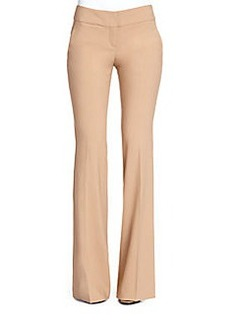 Michael Kors Flared Wool Trousers