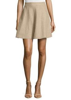 Michael Kors Flirt A-Line Skirt, Hemp