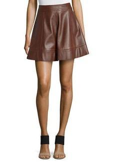 Michael Kors Flirt A-Line Skirt, Nutmeg