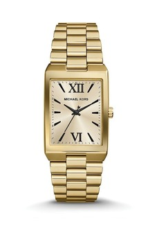 Michael Kors Gold-Tone Nash Watch, 34mm