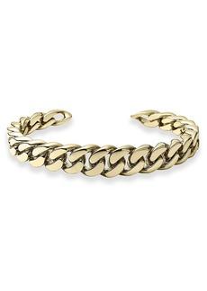 Michael Kors Graduated Frozen Curb Chain Cuff