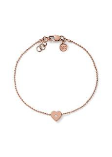 Michael Kors Heart Charm Bracelet