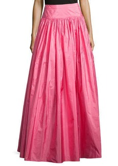 Michael Kors Hostess Full Long Skirt, Carnation