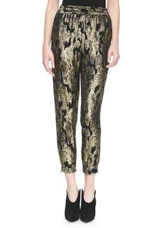 Michael Kors Ikat Fil Coupe Pajama Pants