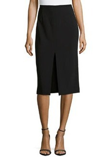 Michael Kors Knee-Length Pencil Skirt w/ Center Slit