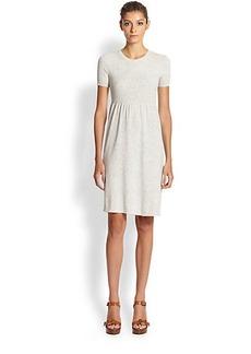 Michael Kors Knit Empire-Waist Dress