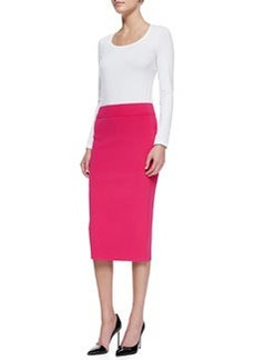 Michael Kors Knit Tube Skirt, Azalea