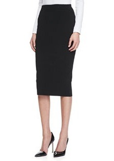 Michael Kors Knit Tube Skirt, Black