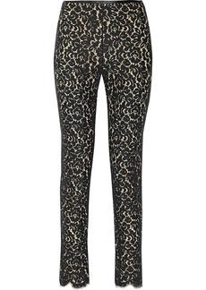 Michael Kors Lace straight-leg pants