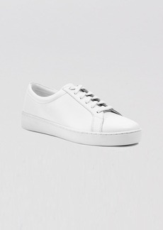 Michael Kors Lace Up Flat Sneakers - Valin