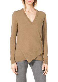 Michael Kors Layered Asymmetric Sweater