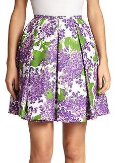 Michael Kors Lilac-Print Skirt