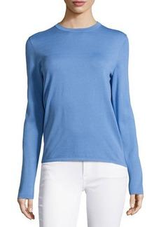 Michael Kors Long-Sleeve Knit Top