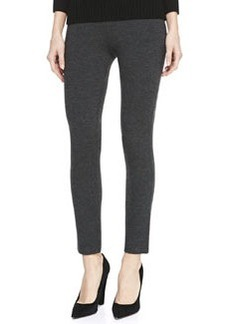 Michael Kors Merino Wool-Blend Leggings, Black
