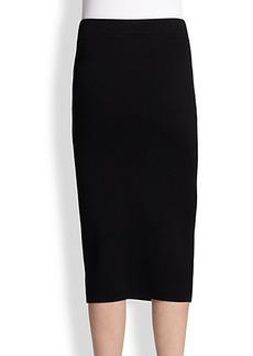 Michael Kors Merino Wool Pencil Skirt