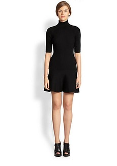 Michael Kors Merino Wool Turtleneck Dress