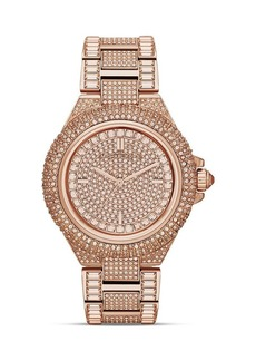 Michael Kors Mid-Size Camille Chronograph Glitz Watch, 43mm