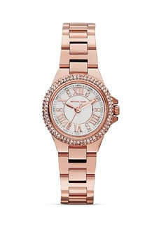 Michael Kors Mini Camille Three-Hand Glitz Watch, 26mm