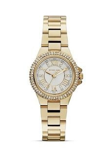 Michael Kors Mini-Size Camille Three-Hand Glitz Watch, 26mm