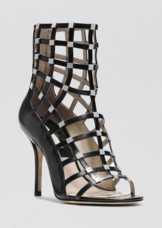 Michael Kors Open Toe Caged Sandals - Cora High Heel