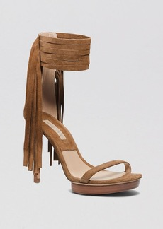 Michael Kors Open Toe Platform Sandals - Daphne High Heel