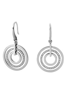Michael Kors Pavé Disc Earrings