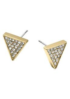 Michael Kors Pavé Triangle Earrings