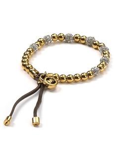 Michael Kors Pave Beaded Bracelet