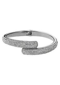 Michael Kors Pave Bypass Bracelet, Silver Color