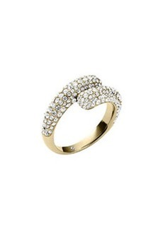 Michael Kors Pave Bypass Ring, Golden