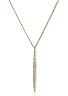 Michael Kors Pave Matchstick Charm Necklace, 28""
