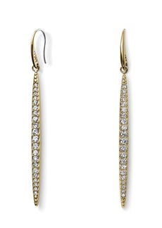 Michael Kors Pave Matchstick Fishwire Earrings