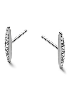 Michael Kors Pave Matchstick Post Earrings