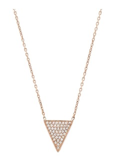 Michael Kors Pave Pendent Necklace