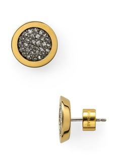 Michael Kors Pave Slice Stud Earrings