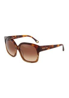 Michael Kors Plastic Eliza Square Sunglasses