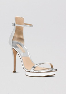 Michael Kors Platform Evening Sandals - Doris High Heel