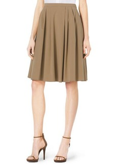 Michael Kors Pleated A-Line Dance Skirt