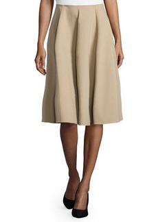Michael Kors Pleated Circle Skirt, Sand
