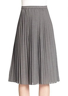 Michael Kors Pleated Midi Skirt