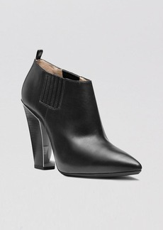 Michael Kors Pointed Toe Booties - Lacy High Heel