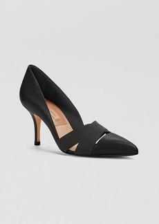 Michael Kors Pointed Toe Pumps - Stephanie High Heel