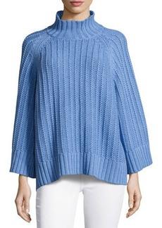Michael Kors Ribbed Shaker-Knit Sweater
