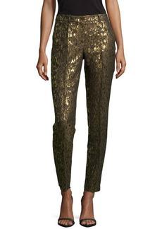 Michael Kors Samantha Brocade Skinny Pants