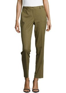 Michael Kors Samantha Cropped Skinny Pants, Military